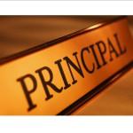 principal sign